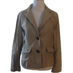 Tan banana republic blazer jacket